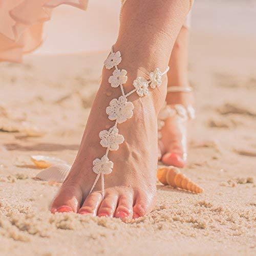 crochet feet jewelry - 7