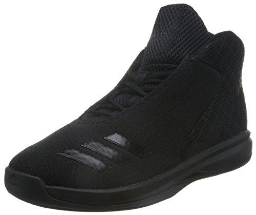 adidas Herren Court Fury 2016 Basketballschuhe, Schwarz (Negbas/Negbas/Negbas), 44