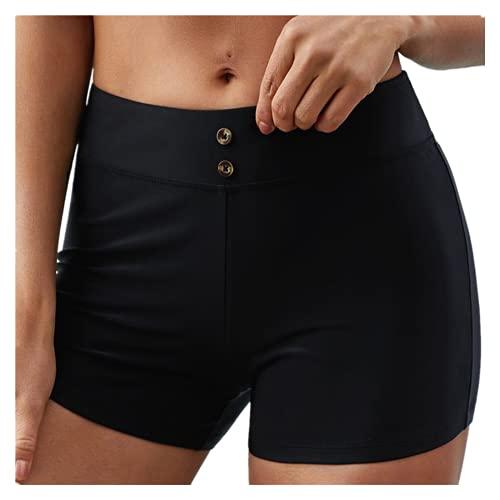 TYTUOO Leggings de entrenamiento de moda para mujer, fitness, deportes, gimnasio, correr, yoga, pantalones atléticos, pantalones de verano con bolsillo de cintura alta sólida