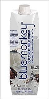 Blue Monkey Blue Monkey Coconut Milk, 33.9 Fluid Ounce (Pack of 12)
