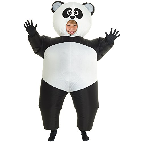 Morph Giant Panda Kids Inflatable Blow Up Costume - Kids