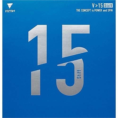VICTAS Belag V > 15 Stiff Optionen 2,0 mm, schwarz