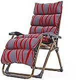 Sillas de salón para Patio Tumbona reclinable, sillas reclinables en el Exterior, Silla reclinable Plegable para Exteriores, Silla Plegable para jardín Sillón para Patio, tumbonas para Inter