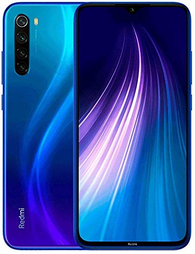 Xiaomi Redmi Note 8, 32GB/3GB RAM 6.3' FHD+ Display Snapdragon 665, Dual SIM Factory Unlocked Global Version (Neptune Blue)