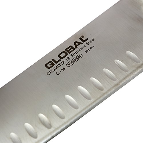 Global G-56-7 inch, 18cm Vegetable Hollow Ground Knife