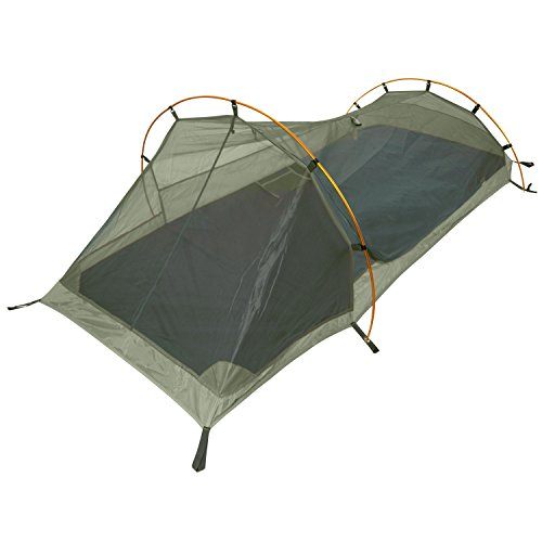 Winterial Single Person Personal Bivy Tent, Lightweight 2 Pounds 9 Ounces, Green