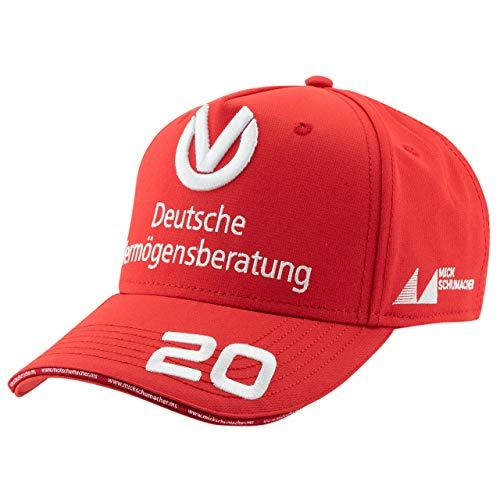 MBA-SPORT Mick Schumacher Cap Weltmeister 2020 rot