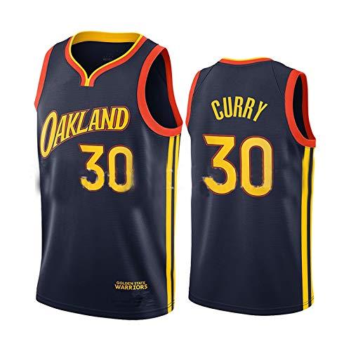 Maglia da Basket da Uomo NBA Curry 30 Jason Thompson 11 Maglia da Atletica retrò Canotta Sportiva Canotta Sportiva S-XXL