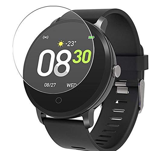 Vaxson 3 Stück 9H Panzerglasfolie kompatibel mit BingoFit x9 smartwatch Smart Watch, Panzerglas Schutzfolie Displayschutzfolie Bildschirmschutz