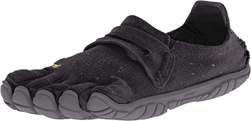 Vibram Five Fingers Men's CVT-Hemp Minimalist Casual Walking Shoe (43 EU/9.5-10, Black)