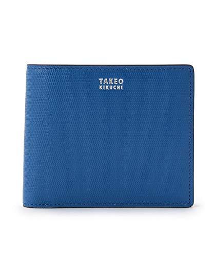 (タケオキクチ) TAKEO KIKUCHI ミニメッシュ2つ折り財布 [ メンズ 財布 サイフ 定番 二つ折り ギフト プレゼント ] 07001520 00 ブルー(591)