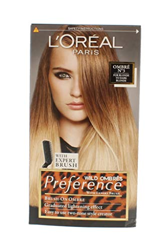 L'oreal Preference Wild Ombres Dip Dye Hair Kit (No-3 Blonde to Dark Blonde)