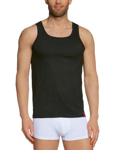 Bruno Banani - Maillot de corps - Sans manche - Homme - Noir - Schwarz (7 schwarz) - Large (Taille fabricant: L)
