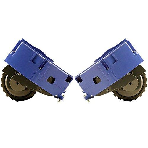 IRobot - Kit de ruedas originales (derecha e izquierda) para iRobot Roomba, compatibles con series R3 500, 600 y 700 (todos los modelos)