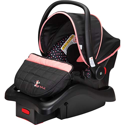 Disney Light 'N Comfy 22 Luxe Infant Car Seat, Minnie Confetti
