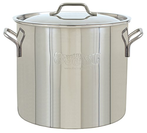 BAYOU CLASSIC 1440 Stainless Kettle