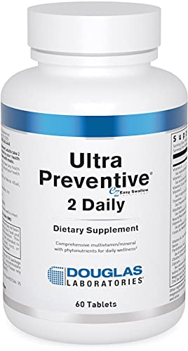 Douglas Laboratories - Ultra Preventive 2 Daily - Vitamins and Minerals Supplement with Herbal Antioxidant Support - 60 Tablets
