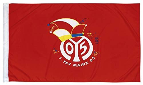 1. FSV Mainz 05 Fastnachtsfahne Logo