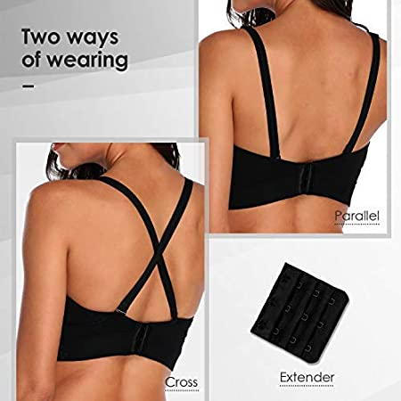 Black Hands Free Pumping Bra Lansinoh Lupantte Adjustable Nursing Bra for Pumping .Fit Most Breast Pumps Like Spectra Comfortable Breast Pump Bra with Pads Philips Avent etc. Medium