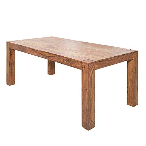 Riess Ambiente Exklusiver Massiver Sheesham Esstisch MAKASSAR 200cm Tisch Holztisch Massivholz Küchentisch Esszimmertisch Konferenztisch