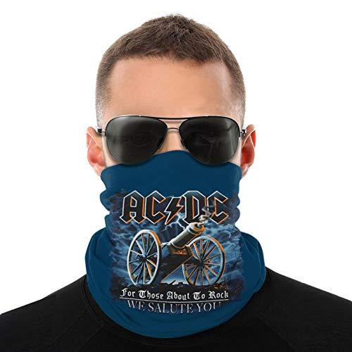 Para los que están a punto de rockear le saludamos póster bufandas cálidas unisex pañuelos para la cabeza gorros multifuncionales para toallas faciales elásticas bufandas lavables