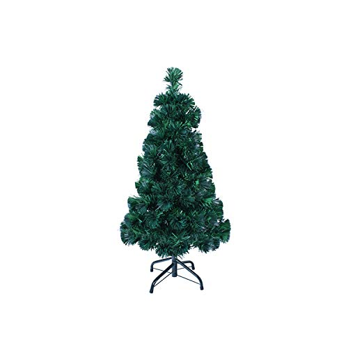 The Christmas Workshop 73550 3ft Fibre Optic Tree | Artificial Indoor Christmas Decoration | Includes Sturdy Metal Stand | 100 Tips