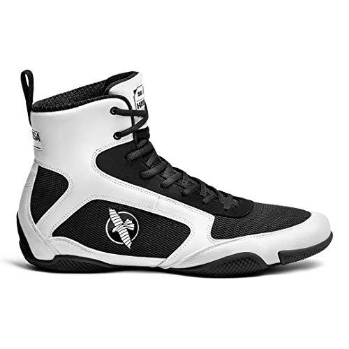 Hayabusa Pro Boxing Shoe for Men & Women - White, 10