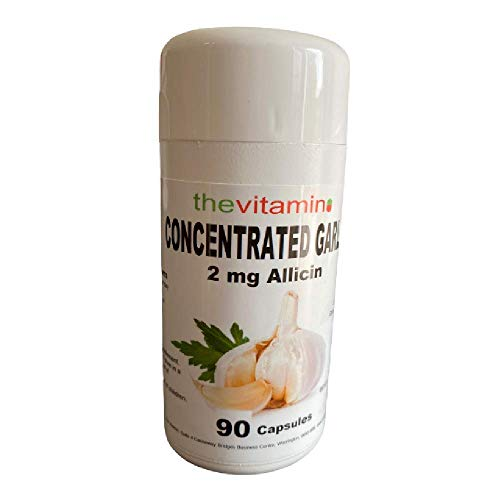 The Vitamin Concentrated Garlic 2 mg Allicin 90 Capsules - Potted