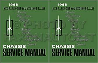 1968 Oldsmobile Repair Shop Manual Reprint