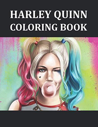 41-tXj8ztDL Harley Quinn Coloring Books