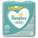 Pampers Feuchte Tücher Sensitive, 5er Pack