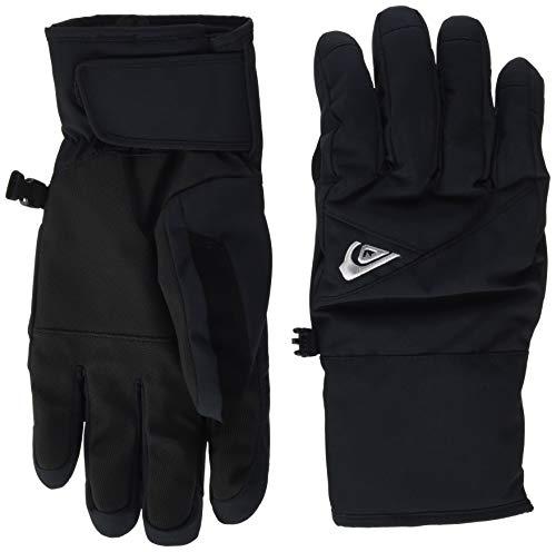 Quiksilver Cross Gloves, Hombre, Black, S