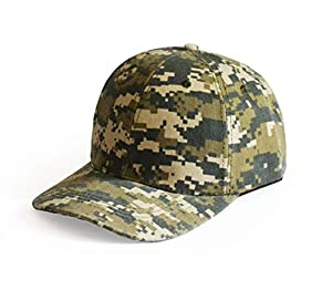 Baseball Cap, UltraKey Army Military Camo Cap Baseball Casquette Camouflage Hats For Hunting Fishing Outdoor Activities