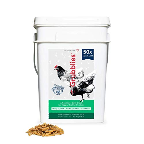 Price comparison product image Grubblies Original USA & CA - Natural Grubs for Chickens,  Healthier Than Mealworms