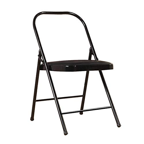 Best Deals! Yoga Auxiliary Folding Chair, PU Face Yoga Inverted Stool, Thick Folding Chair, Beginner...