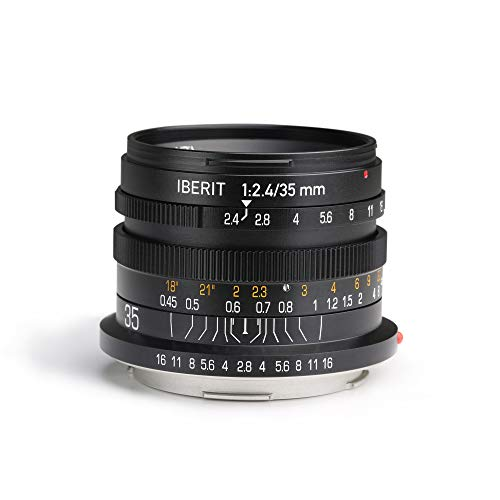 Kipon IBERIT 35mm F2.4 Full Frame Lenses for...