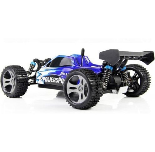 Yacool  Wltoys A959 Rc auto 1/18 2.4 GH 4WD Off-Road Buggy - blu