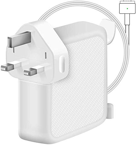 Compatible with MacBook Pro Charger, 60W Magsafe 2 T-Tip Power Adapter Charger for Macbook Pro with 13-inch And MacBook Air 11-inch & 13-inch LATE 2012