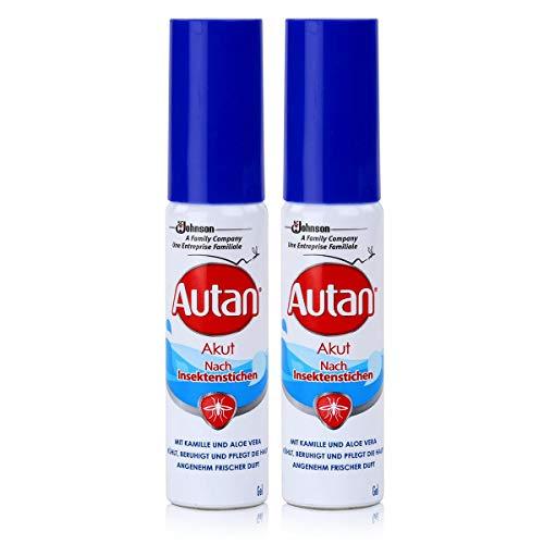 Autan nach Insektenstichen AKUT 25ml - schnelle Kühlung der Haut bei den Folgen von Insektenstichen oder Kontakt mit Brennnesseln (2er Pack)