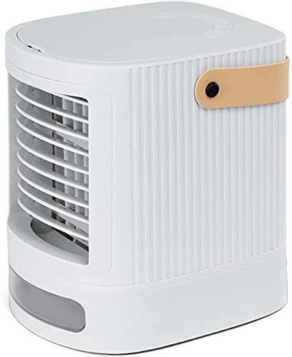 XJYDS Raffreddatore d'aria, condizionatore d'aria portatile USB caricato, raffreddatore evaporazione 3 in 1 3 velocità del vento regolabile mobile mobile condizionatore mobile, per casa per ufficio De