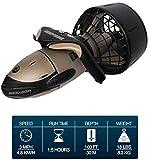 SANON Seascooter 100 pies bajo el Agua 3,0 mph Vespa 2 Velocidad Snorkel Buceo Go Pro Compatible. WTZ012