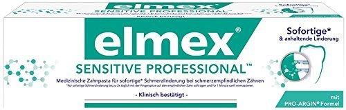 Elmex SENSITIVE PROFESSIONAL Zahnpasta mit PRO-ARGIN, 2er Pack (2 x 75 ml) DOPPELPACK