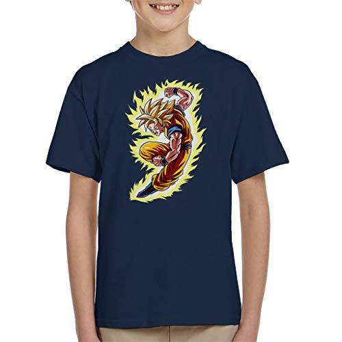 Cloud City 7 Goku War Dragon Ball Z Kid's T-Shirt