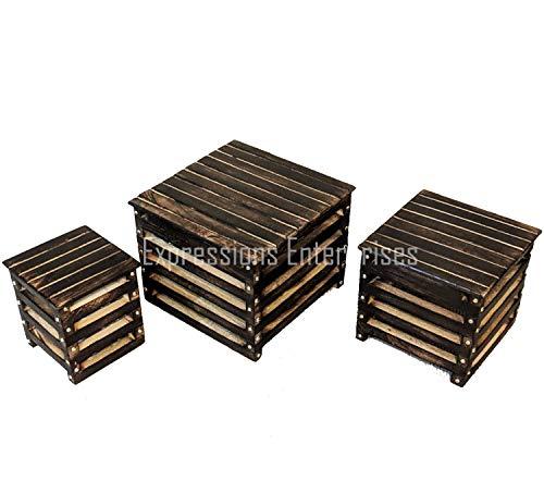Expression Products Lot de 2 /étag/ères d/'angle en acrylique 150 mm 200 mm Contemporain