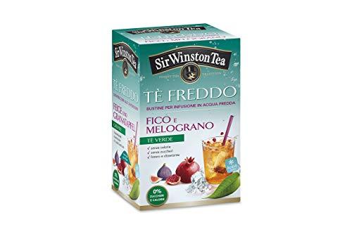 Sir Winston Tea Tè Freddo Fico Melograno - 3 confezioni da 45g