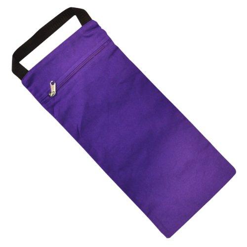 YogaDirect ungefüllt Yoga Sand Tasche, violett