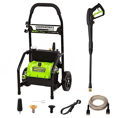 Greenworks PW-1800 1800 PSI 1.1 GPM Electric...