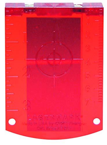 Bosch Professional 1608M0005C Bosch, rot Zieltafel (für Laser Entfernungsmesser