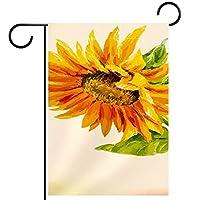 庭の装飾の屋外の印の庭の旗の飾り黄金の花 テラスの鉢植えのデッキのため