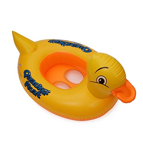 Baby Swimming Aid Swim Ring Baby Children's Boat Animal Yellow Duckling Car Nice Inflatable Car Design Safe PVC Floating Aid 2-8 Years Old Air Mattresses & Inflatable Items